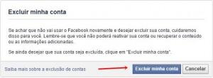 excluir o Facebook Definitivamente